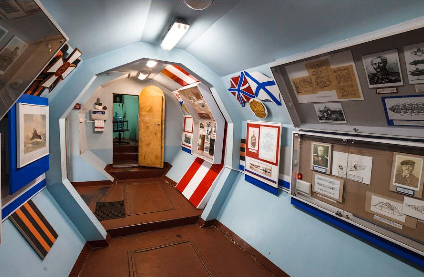 мемориальная подводная лодка с-56 музей